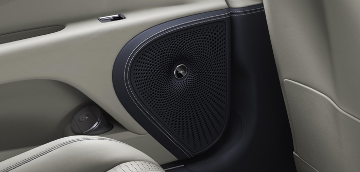 Naim develops sound system for new Bentley Flying Spur