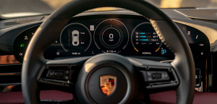 Ict Group Develops Software For Porsche Taycan Instrument Cluster Automotive Interiors World