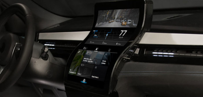 Flexible displays and the automotive interior of the future