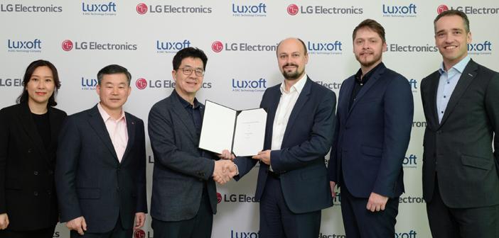 Luxoft and LG Electronics form automotive JV