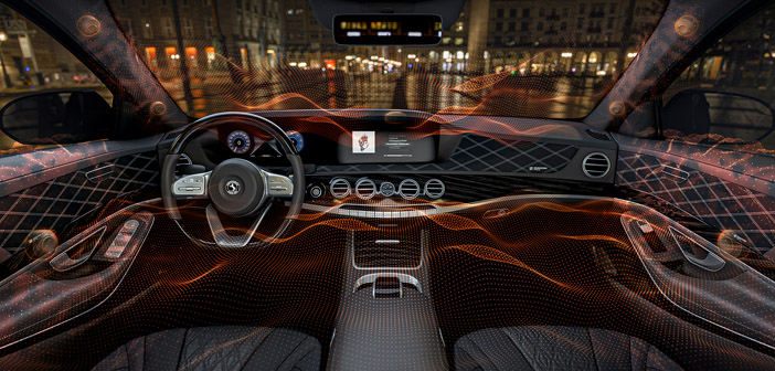 Speakerless vehicle audio unveiled by Continental and Sennheiser
