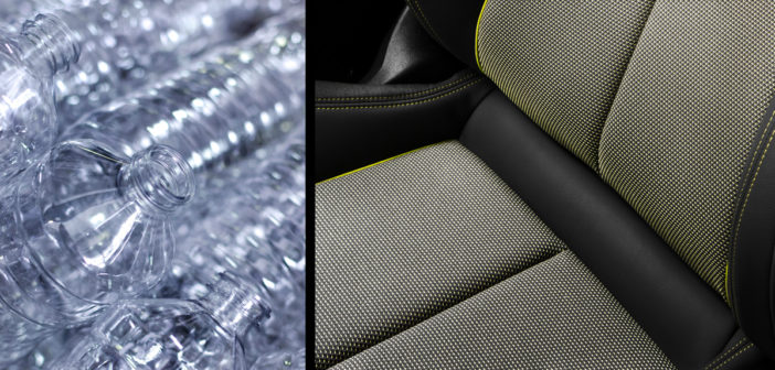 Audi makes seats from PET bottles