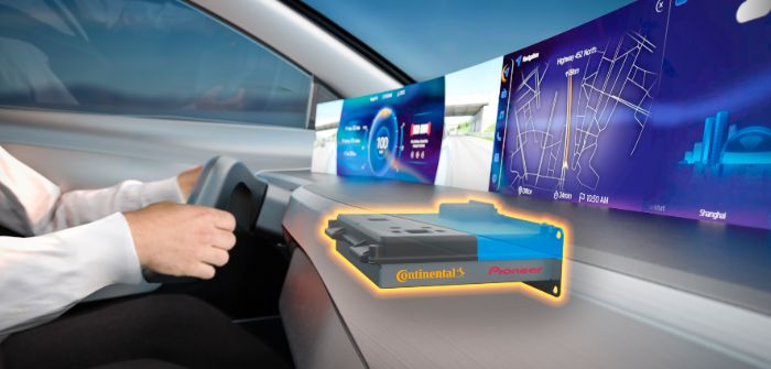 Continental and Pioneer integrate infotainment system