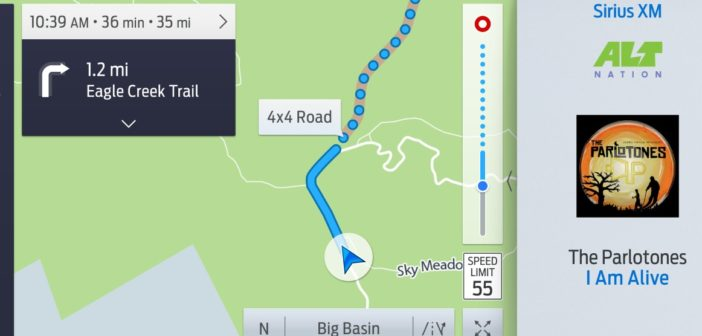 Off-road, off-grid navigation for Ford