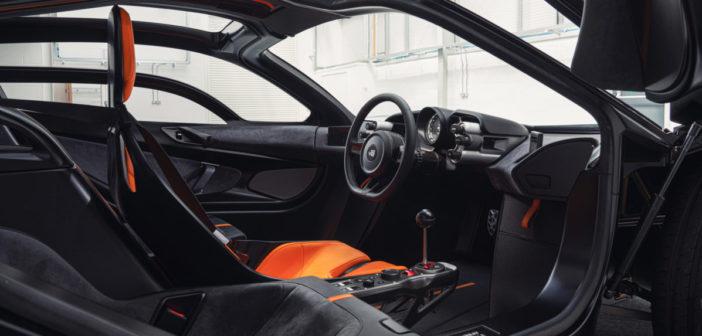 Interior details of Gordon Murray T.50 unveiled