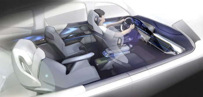 Yanfeng demonstrates smart cabin concept