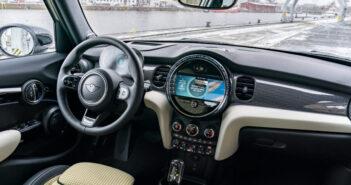 BMW looks to maximize interior space in five-door Mini
