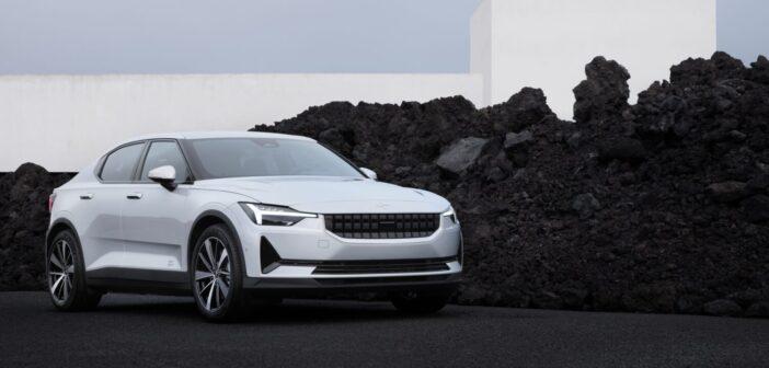 Polestar 2 includes sustainable vehicle interiors