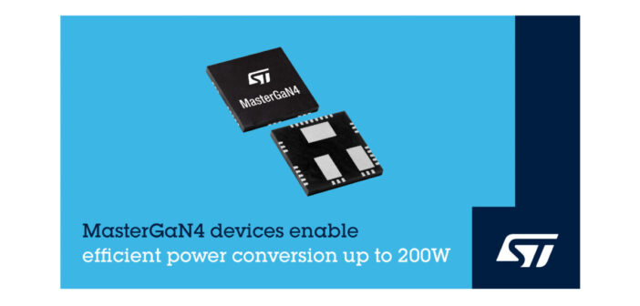 GaN power conversion for more compact and efficient power supplies