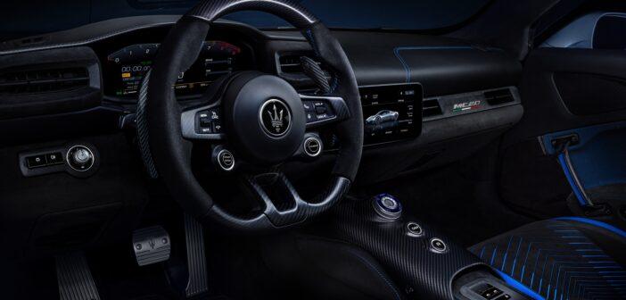 Maserati and Alcantara collaborate on MC20 interior