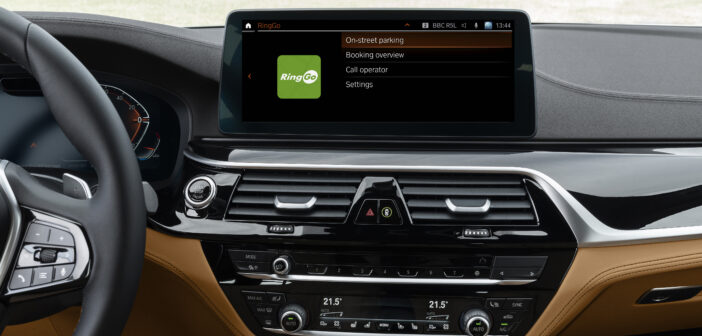 BMW integrates parking payment solution for UK iDrive users
