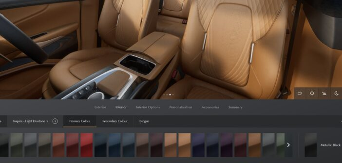Aston Martin offers new interior trim packages for 2022