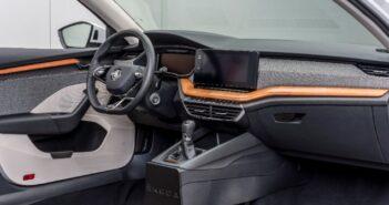 Škoda develops raw sustainable material for interior trim